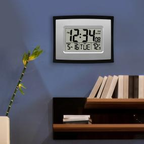La Crosse Technology Digital Wall Clock