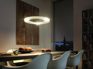 Philips 41620-48-48 Ledino Energy Efficient LED Pendant Light, Aluminum