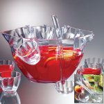 PRODYNE PB8 ILLUSIONS PUNCH SALAD BOWL COMBO 12PC SET