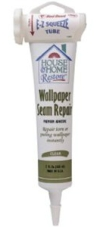 Red Devil 0878 Wallpaper Seam Repair Adhesive, EZ Squeeze Clear, 5-Ounce