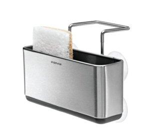 simplehuman Slim Sink Caddy, Stainless Steel