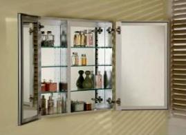 Afina DD 3030 R BRD-BV Broadway Double Door Medicine Cabinet