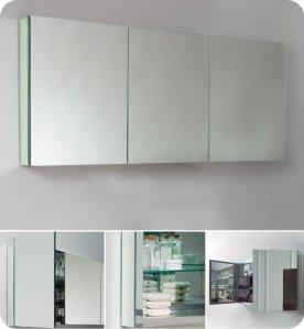 Fresca FMC8019 26 x 60 inch Bathroom Medicine Cabinet