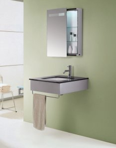 Kinetic Sliding Mirror Medicine Cabinet