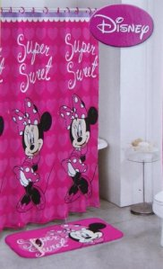 Disney 14-Piece Minnie Mouse Bath Set