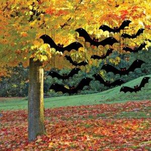 Halloween Yard Decoration Scary Hanging Bats