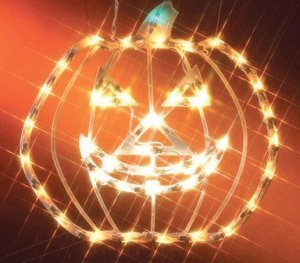 Impact Innovations Halloween Lighted Window Decoration, Jack