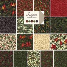 Moda Rejoice Jelly Roll, Set of 40 2.5x44-inch (6.4x112cm) Precut Cotton Fabric Strips.2