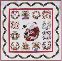 P3 Designs Baltimore Christmas BOM Block of Month Patterns Set