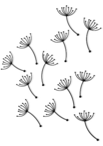 Umbra Pluff Wall Decor, Set of 9