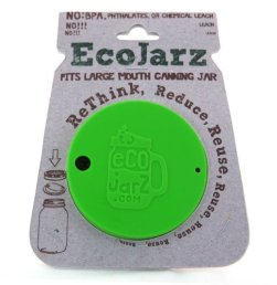 Ecojarz Silicone drink top for wide mouth Mason jars