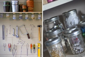 garage storage jars