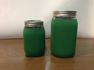 Jar-Z Mason Jar Jacket (quart, green)