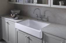 Kohler Whitehaven Short Apron Basin Sink