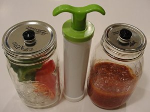 Mason Jar Vacuum Packing Lid_Regular 5-Pack