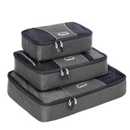 eBags Packing Cubes - 3pc Set, Titanium