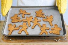 Fred & Friends Ninjabread Men Cookie Cutters