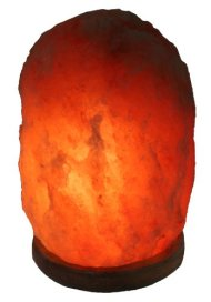 Indusclassic® 9 Inch Himalayan Salt Lamp Natural Crystal Rock, 11-13 Lbs, 5 Kg