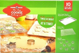 Nordic Ware the Big Cookie Baking Set 10 Piece Set