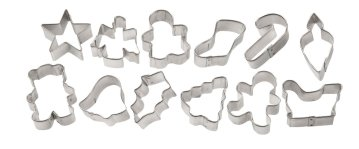 Wilton Mini Cookie Cutter set of 12
