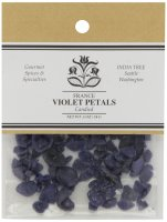 India Tree Candied Violet Petals, 0.5 Ounce