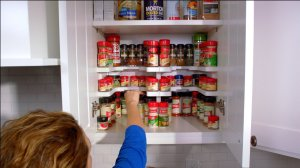 Spicy Shelf Patented Spice Rack and Stackable Organizer