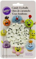 Wilton Candy Eyeballs,0.88 oz,Count of 56
