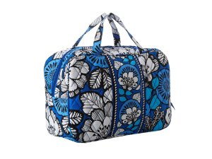 Vera Bradley Grand Cosmetic (Blue Bayou)