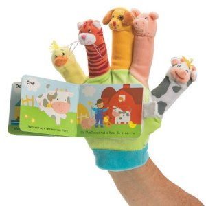 Old McDonald Had A Farm puppet glove